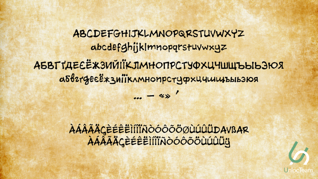 TheComa2Font1